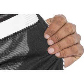 Sportful Pista Mouwloos Fietsshirt Heren, black/white-red